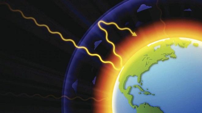 global warming inmarathi