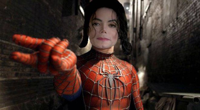 mj as spider man inmarathi