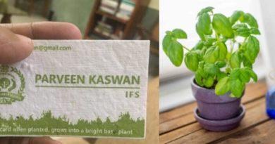 parveen kaswan card inmarathi