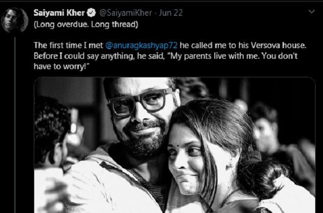 saiyami kher tweet inmarathi