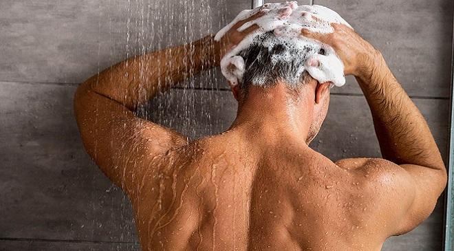 shampoo Indian man InMarathi