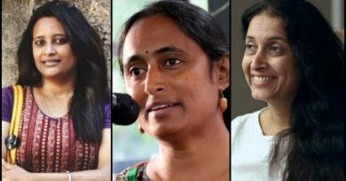 female activist inmarathi