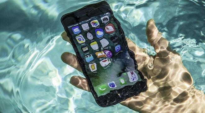 handset in water Inmarathi