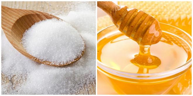 honey sugar inmarathi
