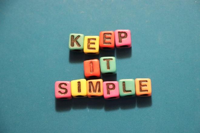 keep it simple inmarathi