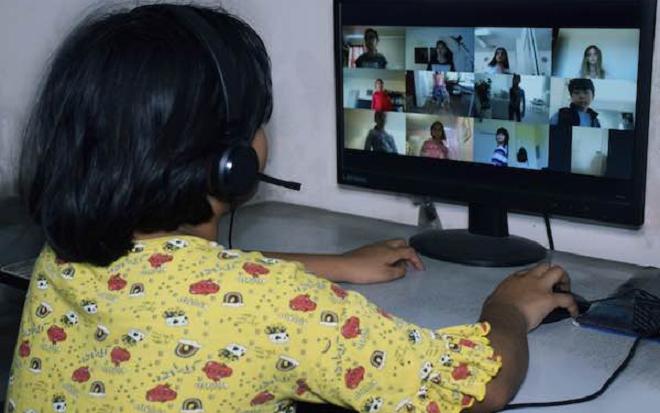 online education inmarathi