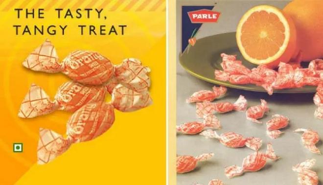 orange candy inmarathi