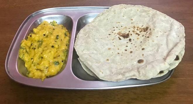 pithla bhakri inmarathi
