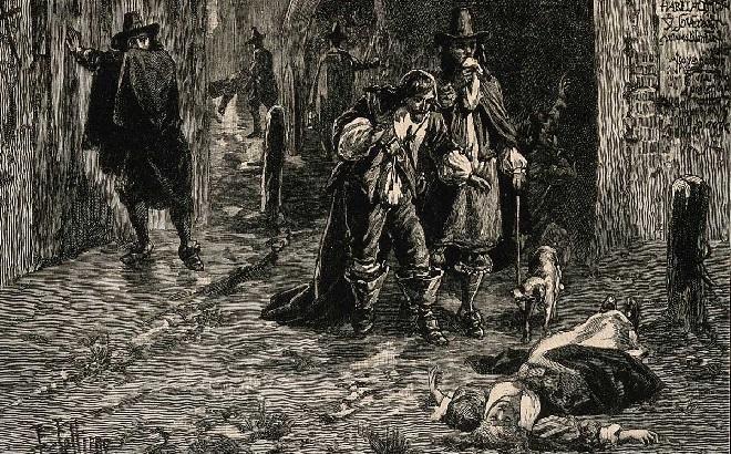 plague in england inmarathi