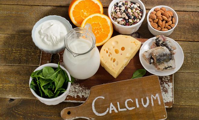 calcium inmarathi