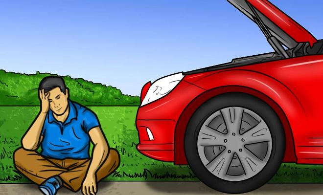 car breakdown inmarathi