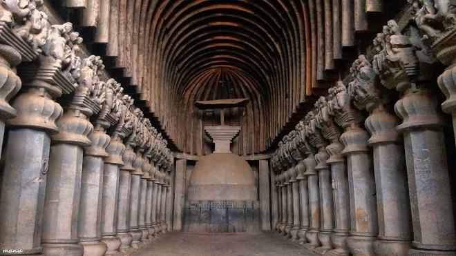 carle caves inmarathi