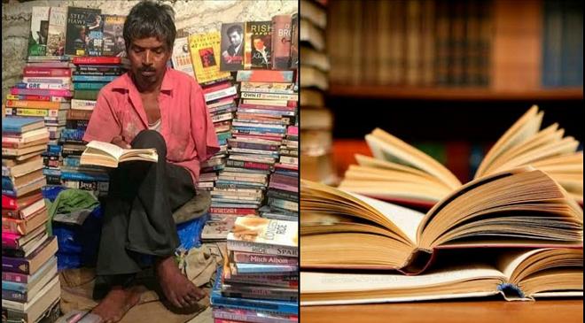 १० रुपयांत पुस्तकं देऊन, उदरनिर्वाह चालवणाऱ्या 'वाचनवेड्याची' वाचा कहाणी!