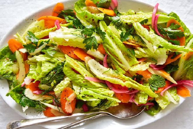 salad inmarathi