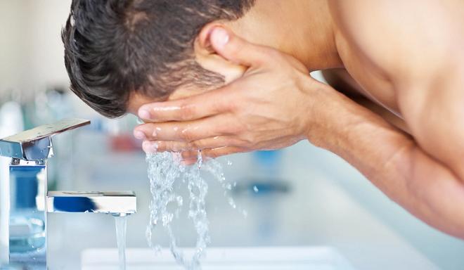 washing face inmarathi
