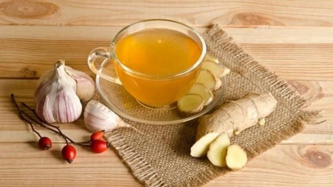 garlic tea inmarathi