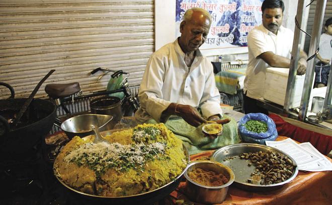 idore food stall inmarathi