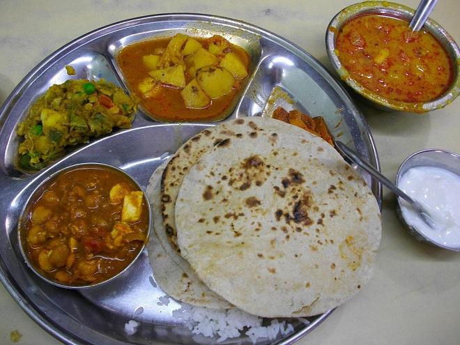 indian thali InMarathi