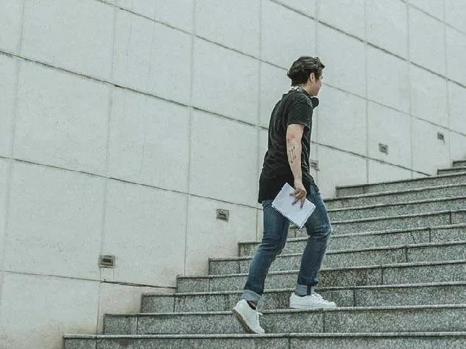 walking steps inmarathi