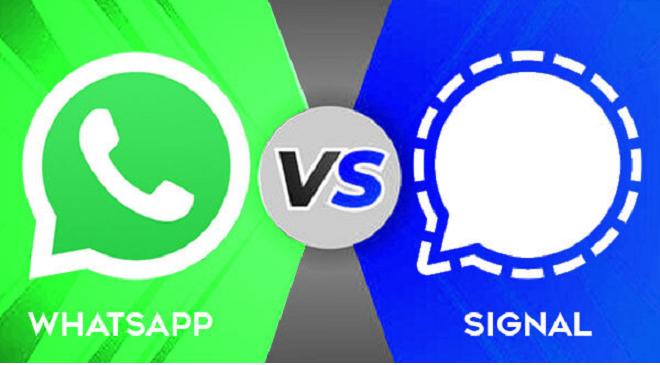 whatsapp vs signal inmarathi