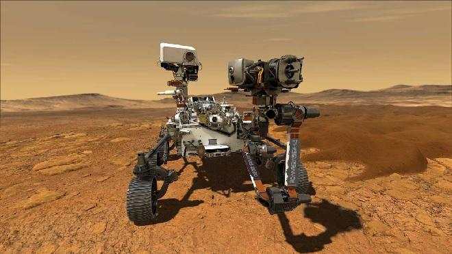 Mars Rover Perseverance inmarathi