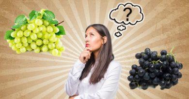 black or green grapes inmarathi