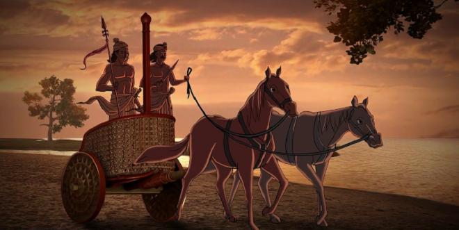 chariot inmarathi