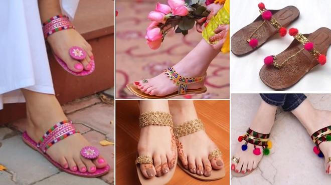 designer chappals inmarathi
