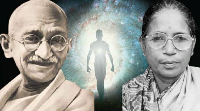 gandhi immortality inmarathi