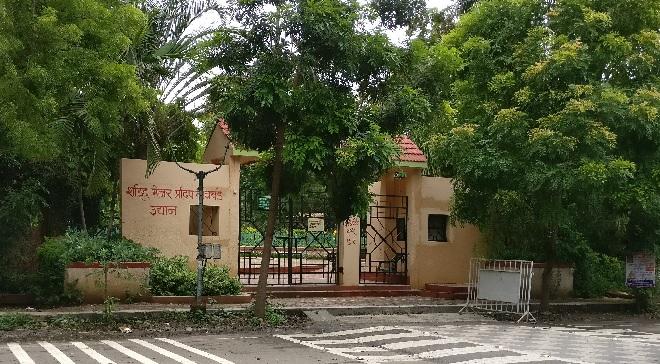 shahid major pradeep thatavde udyan inmarathi