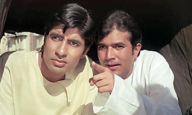 bachchan with kaka inmarathi