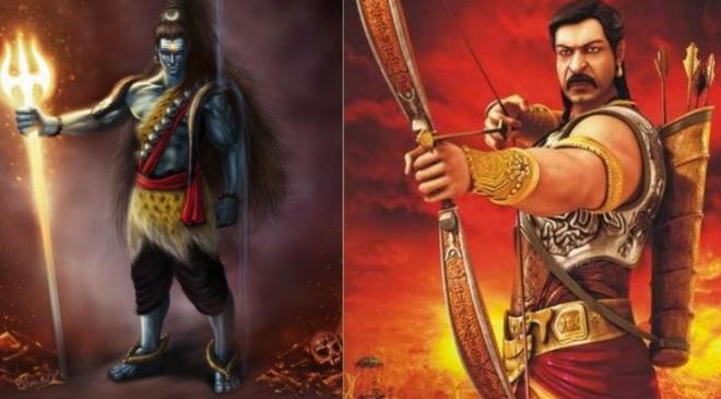 bhagvan shiv vs pandavas war inmarathi