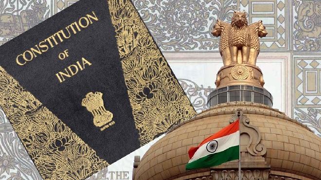 contitution of india inmarathi
