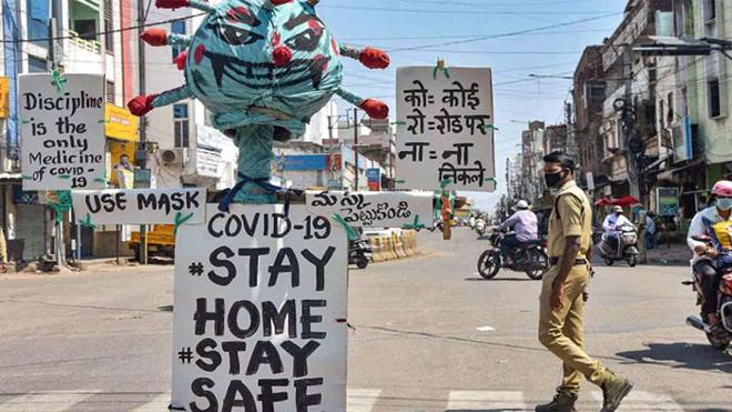 covid lockdown inmarathi
