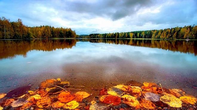 lakes in finland inmarathi