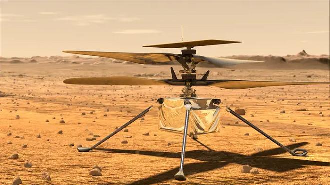mars helicopter inmarathi