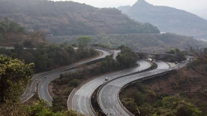 mumbai pune expressway inmarathi