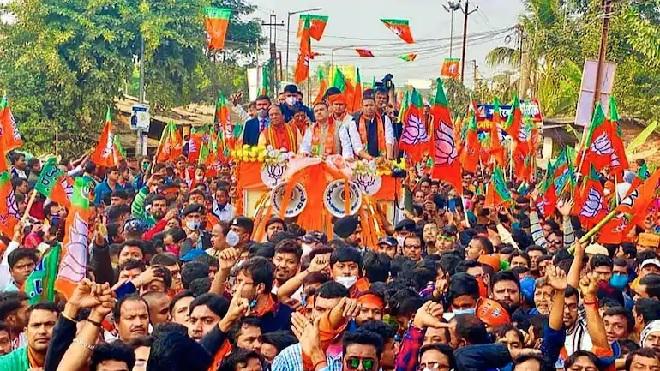 rallies in west bengal inmarathi