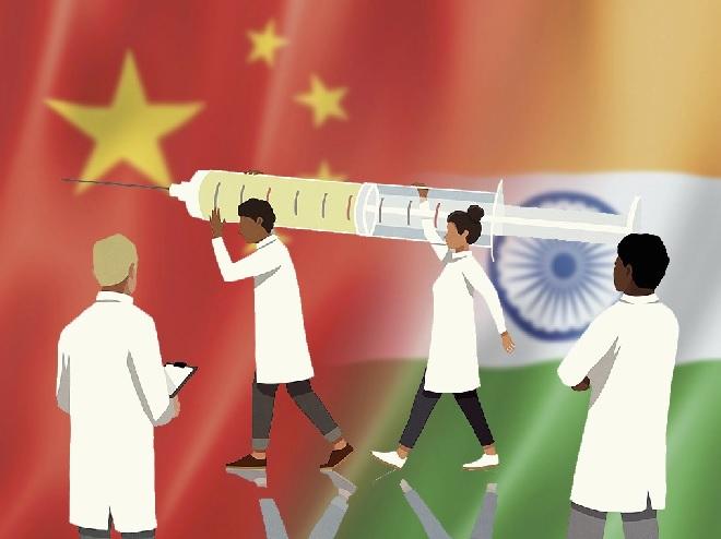 vaccine diplomacy inmarathi
