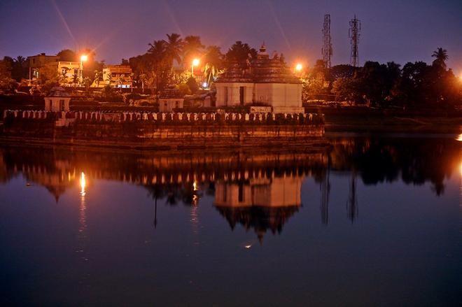bindusagar pond inmarathi