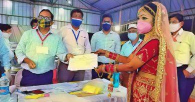 bride wins election inmarathi