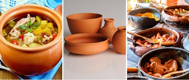 clay pots 5 in marathi