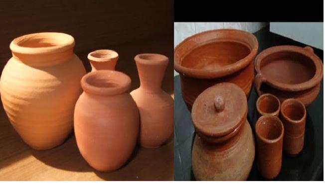 clay pots 6 in marathi