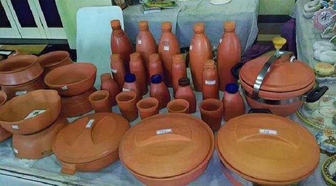 clay utensils inmarathi