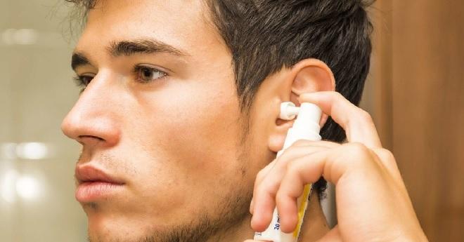 ear spray inmarathi