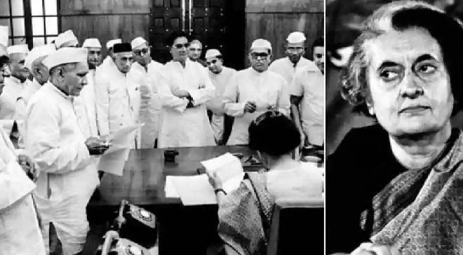 indira gandhi government emergency inmarathi