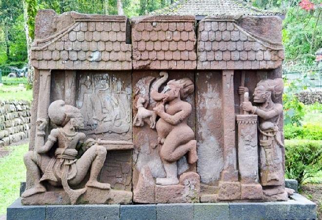 indonesia temple sculpture inmarathi