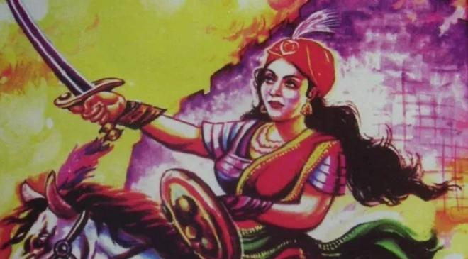 jhalkari bai featured inmarathi