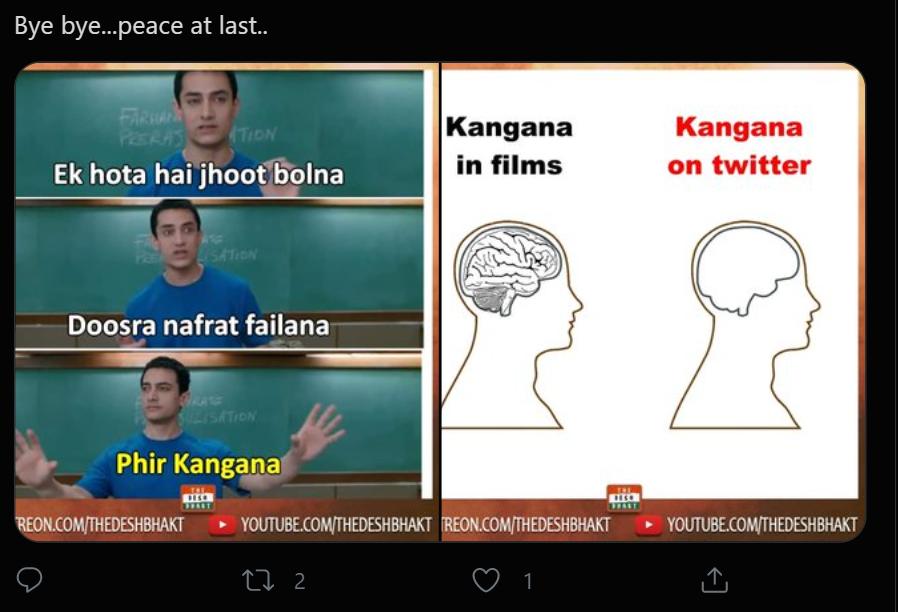 kangana tweet 10 inmarathi