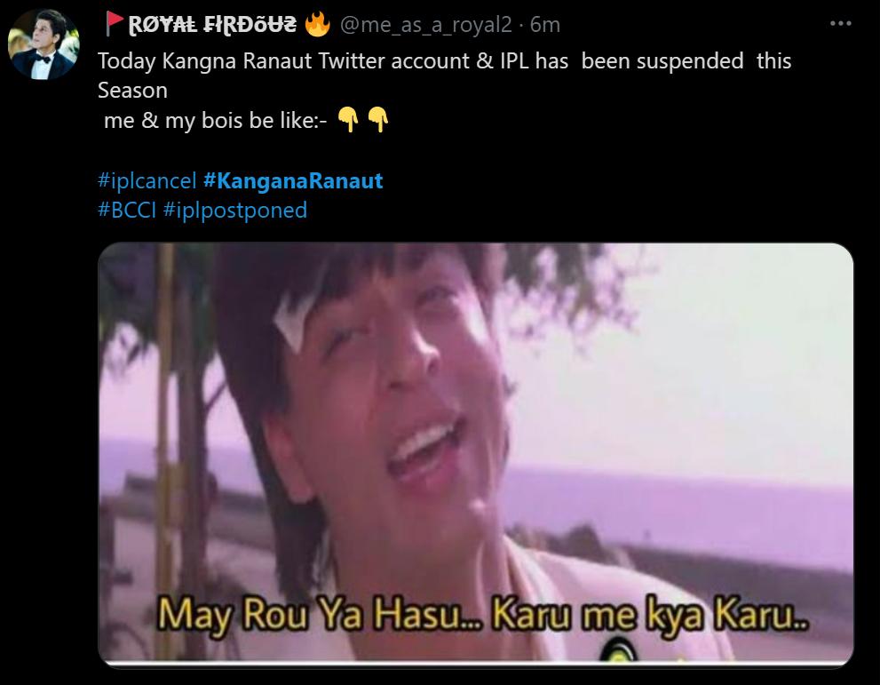 kangana tweet 5 inmarathi
